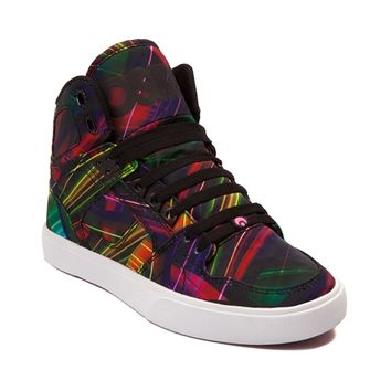 Womens Osiris NYC83 Vulc Laser Lights Skate Shoe
