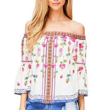 Primrose Off Shoulder Blouse