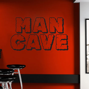 Vinyl Wall Decal Sticker Man Cave #1526