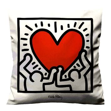 KEITH HARING BODY Cushion Case Cover