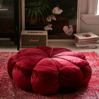 Clarice Velvet Floor Pillow | Urban Outfitters