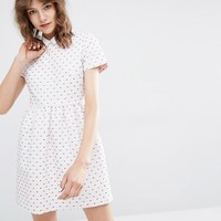 Paul & Joe Sister Dress with Heart Jacquard