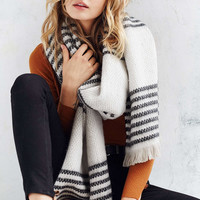 Mixed Fair Isle Blanket Scarf - Urban Outfitters