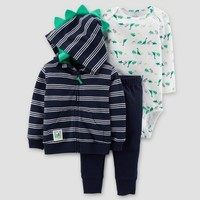 Baby Boys' Dinos 3pc Set - Just One You™ Made by Carter's® Navy/Green