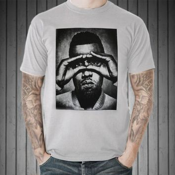 4a754117620d Kanye West Retro Vintage Graphic T-Shirt Us Rap Rapper Hip Hop Icon Music  Song