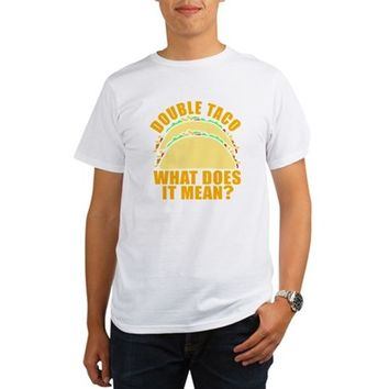 Double Taco Organic Men's T-Shirt