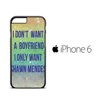 SHAWN MENDES X2135 iPhone 6 Case