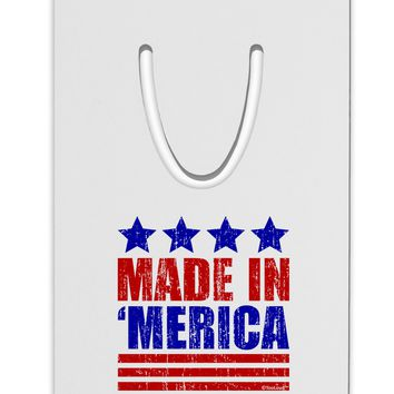 Made in Merica - Stars and Stripes Color Design Aluminum Paper Clip Bookmark