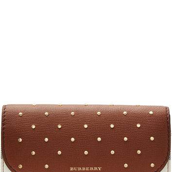 Burberry Shoes & Accessories - Embellished Halton Wallet with Leather