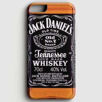 Jack Daniels Black Label iPhone 6/6S Case