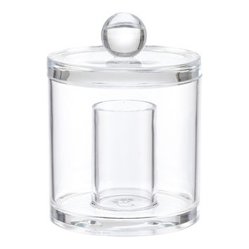 2-Section Acrylic Canister