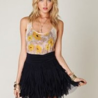 Free People FP ONE Shredded Chiffon Mini at Free People Clothing Boutique