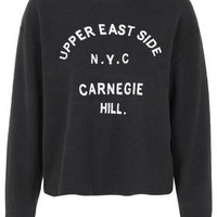 Upper East Side Sweatshirt - Black