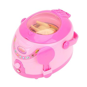 Mini Simulation Appliances Furniture Toys Kids Children Pretend Play Home Electric Cooker Toys Gift