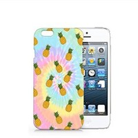 Tie Dye Pineapple iphone 6 6S Case, iphone 6 6S Case Plastic Hard Case Unique Design-Quindyshop (iphone 6) (iphone 6 case) (NAM47)