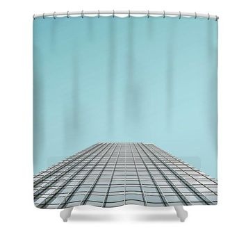 Urban Architecture   Canary Wharf, London, United Kingdom - Shower Curtain