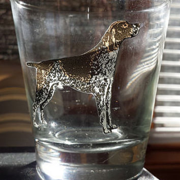 Pointer Shorthair Glass