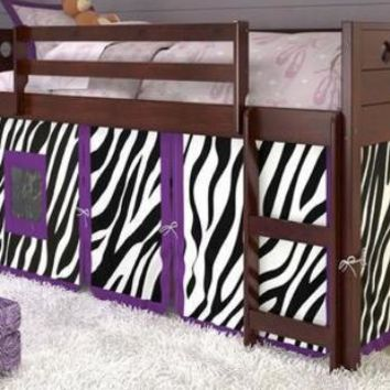 Mila Loft with Purple Zebra Tent