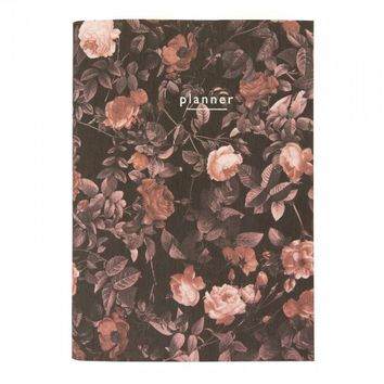 A5 Arden Rose Linen Notebook