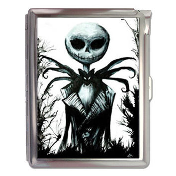 The Nightmare Before Christmas Cigarette Case Lighter Wallet Business Card Holder