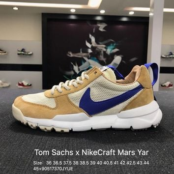 Tom Sachs X Nikecraft Mars Yar 2.0 AA2261-100  Sport Running Shoes