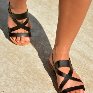 ONTO THE NEXT ONE SANDAL