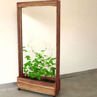 Vegitated Furniture: A Green Growing Room Divider | Designs & Ideas on Dornob