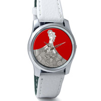The Red Carpet Art Illustration Wrist Watch