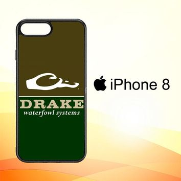 Drake Waterfowl Systems Camo X3442 iPhone 8 Case