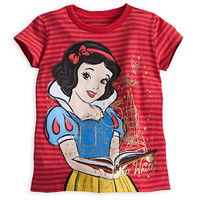 Snow White Striped Tee for Girls