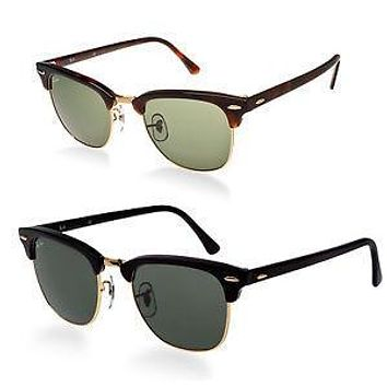 Ray-Ban RB3016 Classic Clubmaster Sunglasses Color & Size Variations