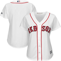 Boston Red Sox Majestic Women's Cool Base Jersey – White