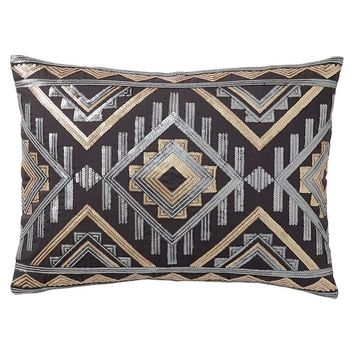 Junk Gypsy Pillow, Desert Sequin Pillow