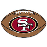 San Francisco 49ers NFL Football Floor Mat (22x35)