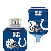 Indianapolis Colts All In One Propane Tank /  5 Gallon Bottle Skin Cover