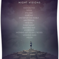 Imagine Dragons - Night Visions Poster