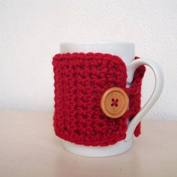Cup cozy Coffee mug sleeve Tea cup cozy Mug cozy Coffee cup cosy Coffee cover Cozy mug Crochet mug cosy Mug warmer Cup cosy GIFTS UNDER 10