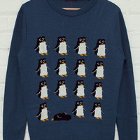 Penguin Jumper Airforce Blue