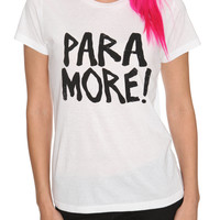 Paramore Exclamation Girls T-Shirt | Hot Topic