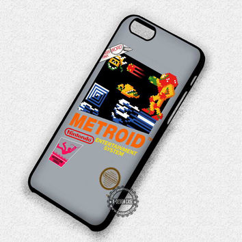 Metroid Nintendo Video Game - iPhone 7 6 5 SE Cases & Covers