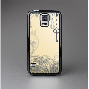 The Vintage Hanging Clocks and Keys Skin-Sert Case for the Samsung Galaxy S5