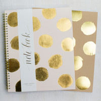 Large Polka Dot Notebook