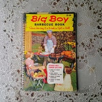 Big Boy Barbecue Book 1957 Barbeque Recipe Book
