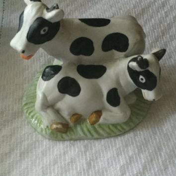 Cow Figurine   Farm Animals   Milk Cows   Figurine   Country Kit. Home Decor