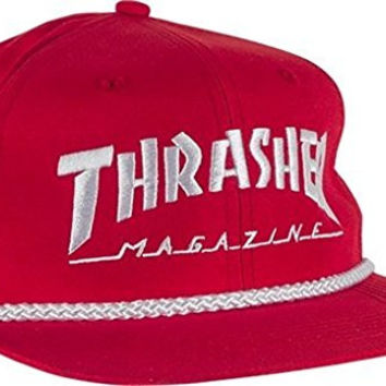 Thrasher Magazine Rope Red / White Hat - Adjustable