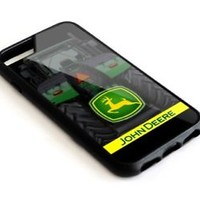 Best John Deere Tracktor Logo iPhone 5 5s 6 6s 7 8 X Plus Hard Plastic Case