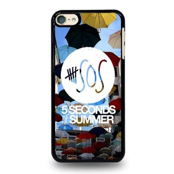 5 SECONDS OF SUMMER 4 5SOS iPod Touch 4 5 6 Case Cover
