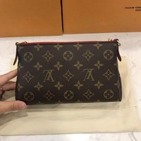 Louis Vuitton Pallas Cluth Bag Handbag Shoulder Bag