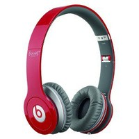 Beats by Dr. Dre Solo HD On-Ear Headphones - Red (900-00013-01)