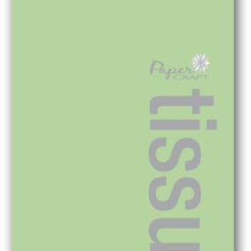 8 sheet color tissue paper - lime green Case of 72